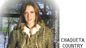 Patrones de Chaqueta estilo country / Paso a paso crochet