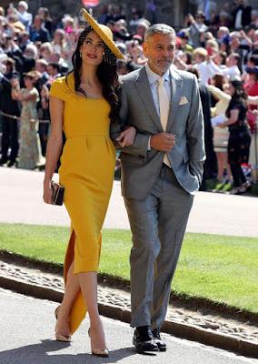 Royal Wedding: Amal Clooney, Oprah Winfrey & Pippa Middleton Lead The Best Dressed Guests - Image ~ Naijabang