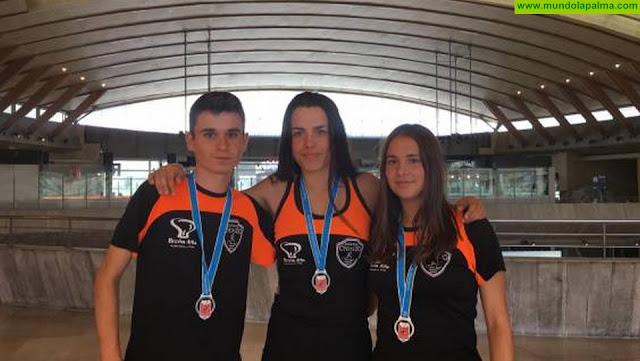 Tres platas en el campeonato de Canarias sub 16 y sub 18 para el Club Atletismo Chirizo