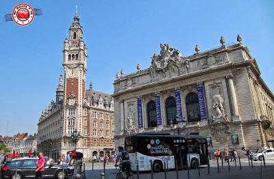 Plaza del Teatro, Lille, Francia