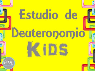 Devocional Deuteronomio Kids