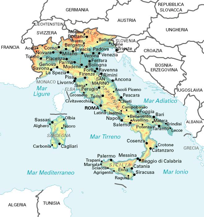 Scopriamo l 39 italia l 39 italia for Nomi politici italiani