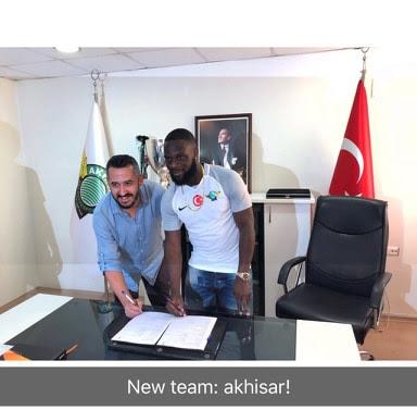 Dutch Born Ghanaian player Elvis manu Joins Akhisar in turkey