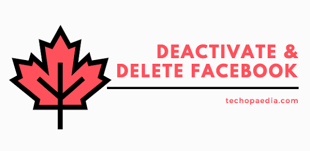 Deactivate or Delete Facebook Account Link Right Now Permanently Or Temporarily