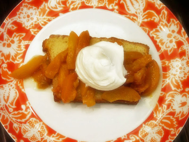 Moveable Feasts Buttermilk Cake With Fresh Apricot Compote