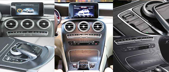 Tựa tay Mercedes GLC 300 4MATIC 2017 được thiết kế nổi bật với rất nhiều tiện ích