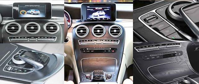 Tựa tay Mercedes GLC 300 4MATIC 2019 được thiết kế nổi bật với rất nhiều tiện ích