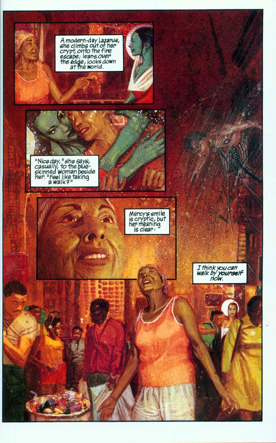 Read online Mercy comic -  Issue # Full - 55