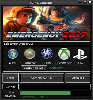 Emergency 2017 CD Key Generator (Free CD Key)