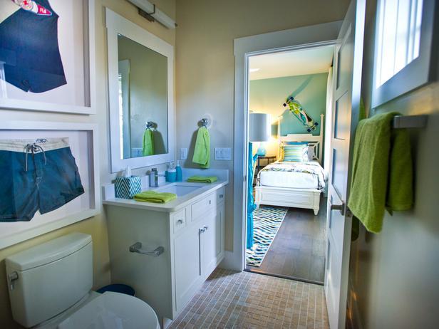 Modern Furniture: Kids Bathroom Pictures : HGTV Smart Home