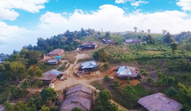 Gambar Kenampakan alam pegunungan Bangladesh