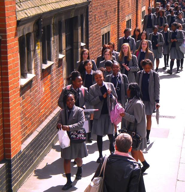 London skolungdomar