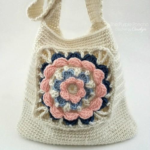 My Favorite Tote Bag - Crochet Pattern