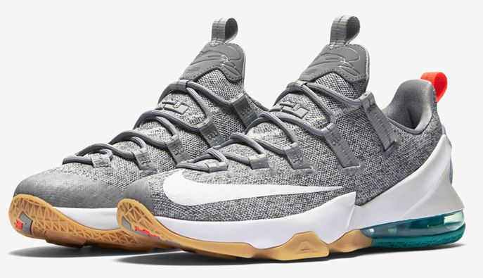 3bf6e4d7c46abe Here is a detailed look at the new Nike LeBron 13 Low  Summer  Sneaker  available at 10am EST HERE at Footlocker