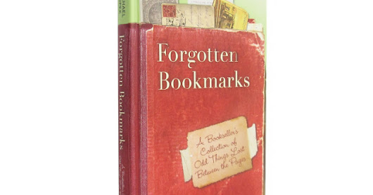 Friday Giveaway: Signed copy of my book FORGOTTEN BOOKMARKS