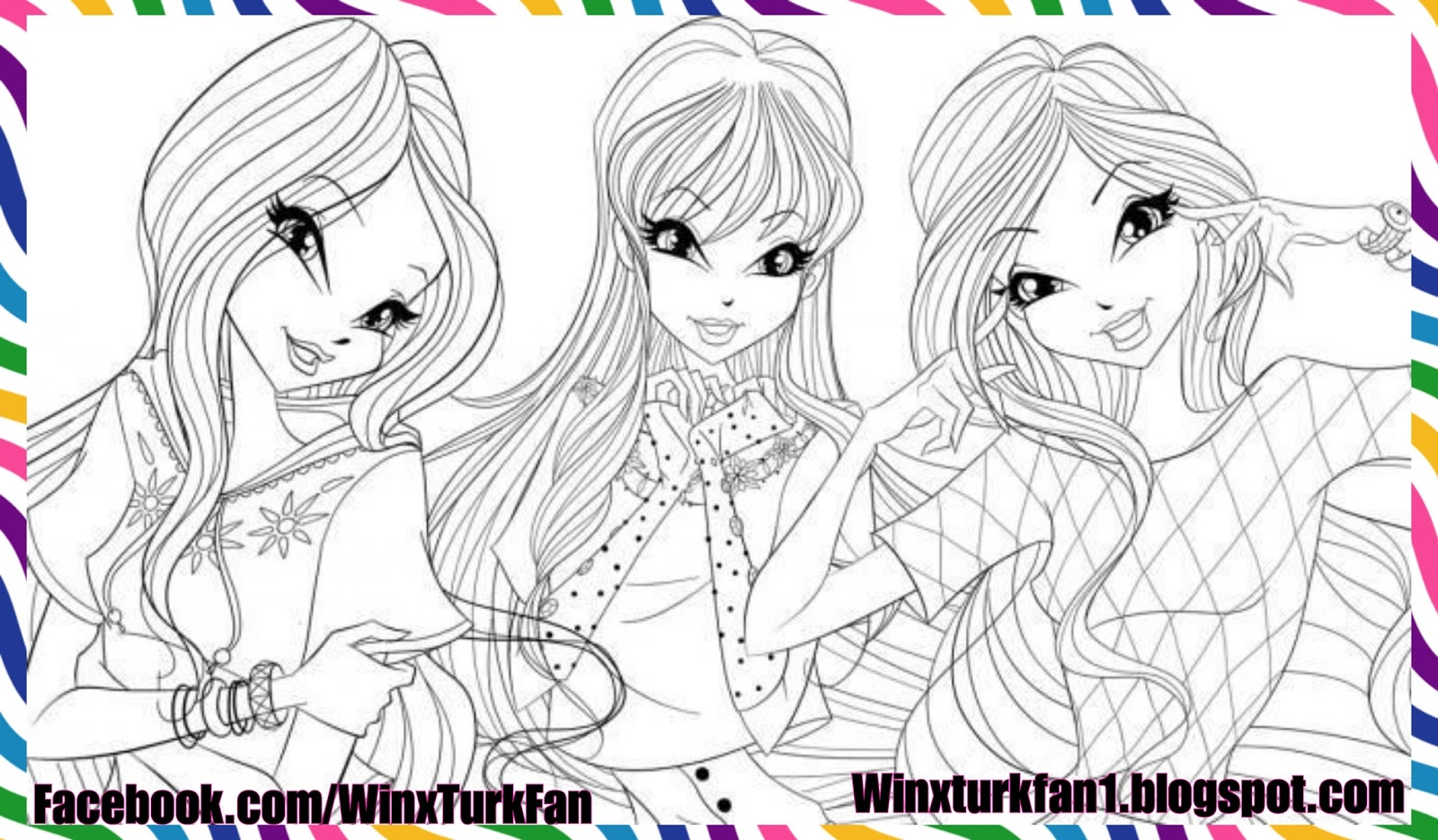 World Of Winx Boyama