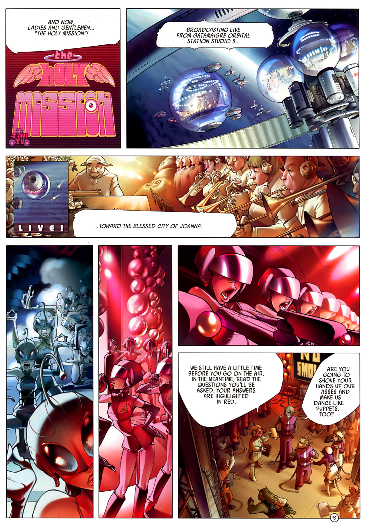 Read online Sky Doll comic -  Issue #3 - 19