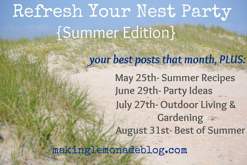 Refresh Your Nest party for bloggers