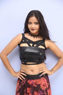 Shriya Vyas in a Tight Backless Sleeveless Crop top and Skirt 146.JPG