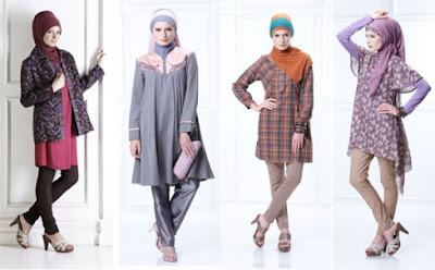 Fashion Terbaru Muslimah di Indonesia