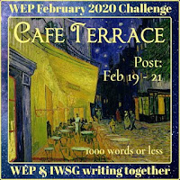 WEP CHALLENGE FOR FEBRUARY 2020!- FOOTPRINTS. CHOSEN BY THE IWSG.