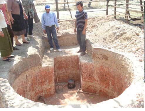 Digging of Biogas Pit