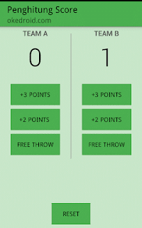 Aplikasi Penghitung Score Android
