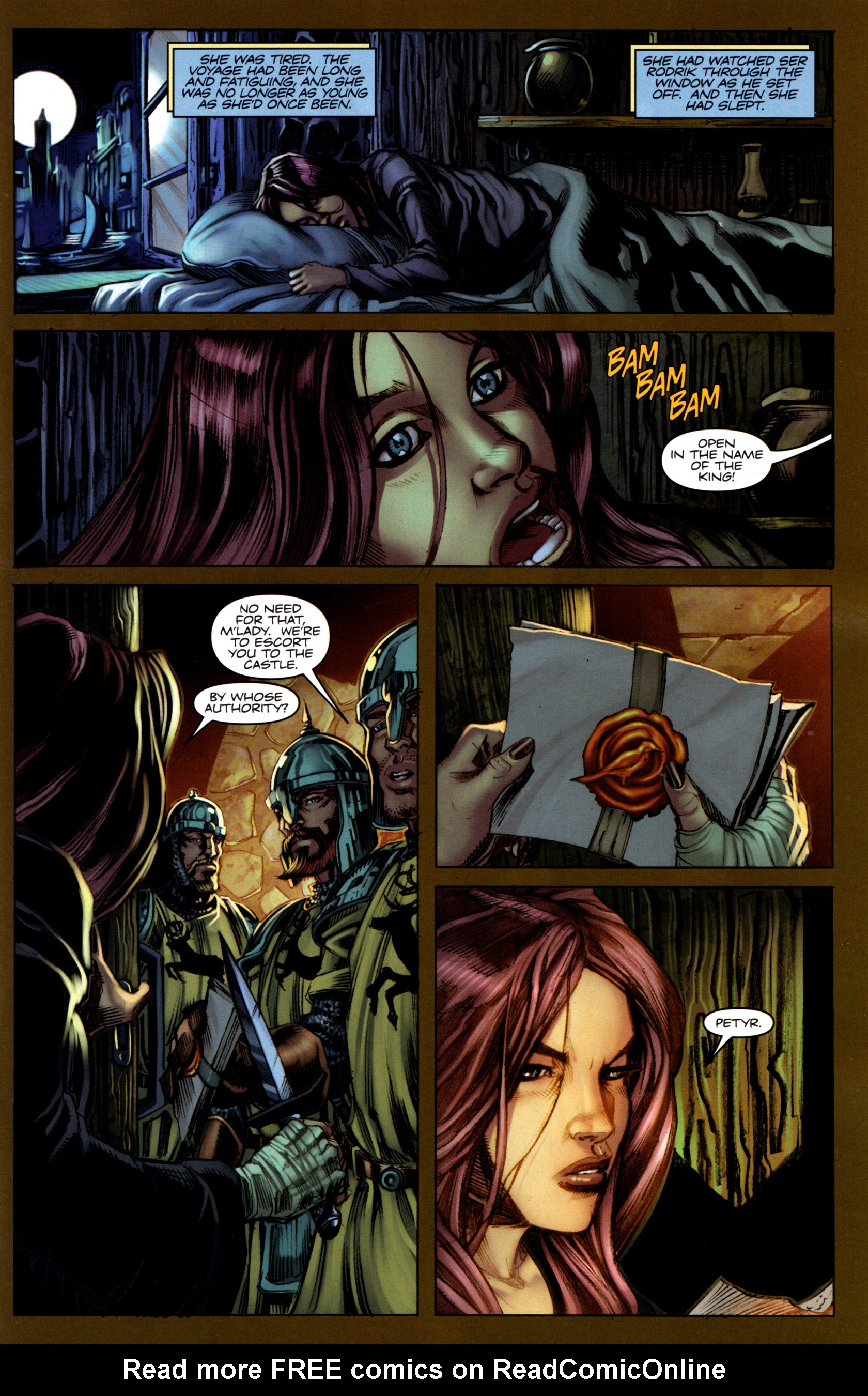 Read online A Game Of Thrones comic -  Issue #5 - 15