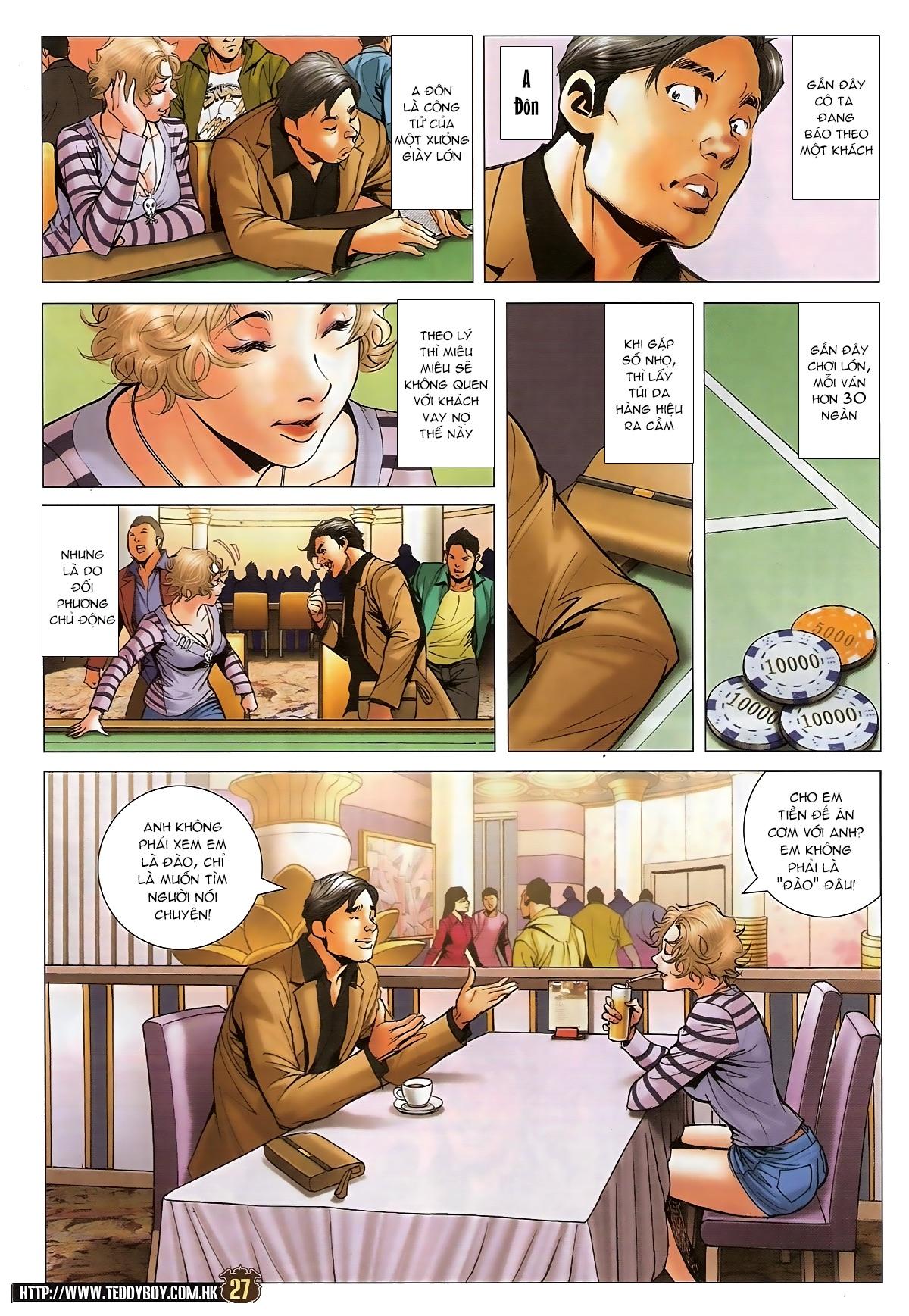 Người Trong Giang Hồ - Chapter 1573: Chuyện bên bếp lẩu - Pic 23