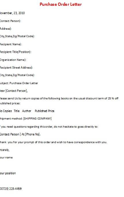 Purchase letter format bestproud business letter samples purchase letter format thecheapjerseys Gallery