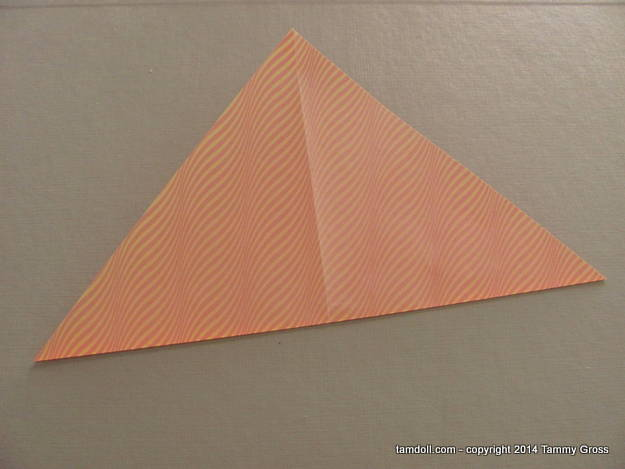 fold in half again, the other direction