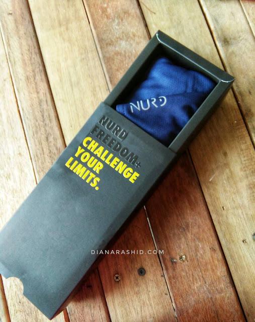 SPORT HIJAB BY NURD : TUDUNG SUKAN YANG SELESA DAN TAK PAYAH PIN KHAS UNTUK WANITA AKTIF