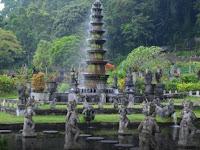 Taman Tirta Gangga Karangasem Bali, Sensasi Kesejukan Natural