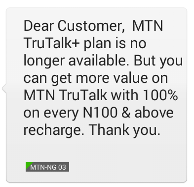how to know your current glo tariff plan