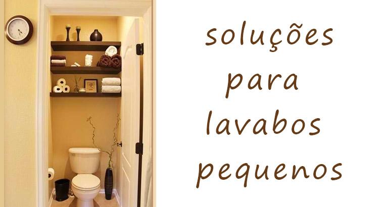 decoração de lavabo