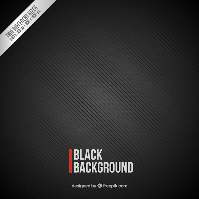 Striped black background