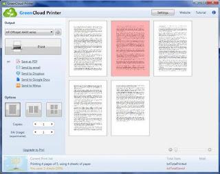 GreenCloud Printer Pro 7.8.4.0 Multilingual Full Version