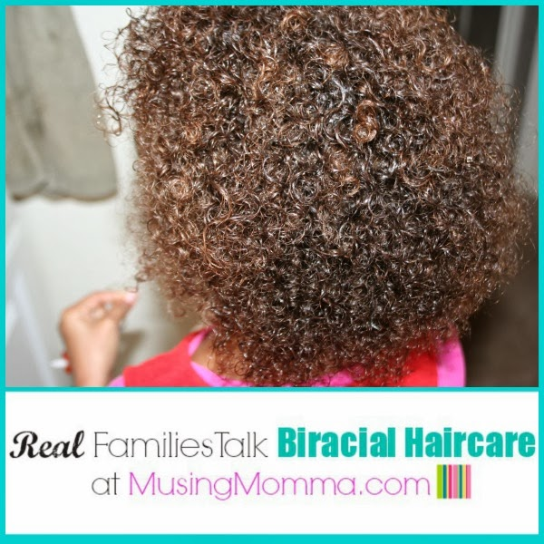 Strange Real Families Talk Biracial Haircare Momsoap39S Curly Girl Short Hairstyles Gunalazisus