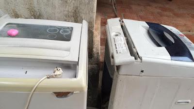 Chuyên sửa máy giặt không Xả nước
