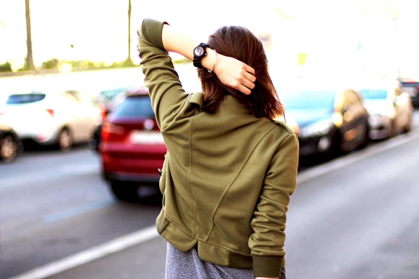 outfit swiss fashion blogger military project goals