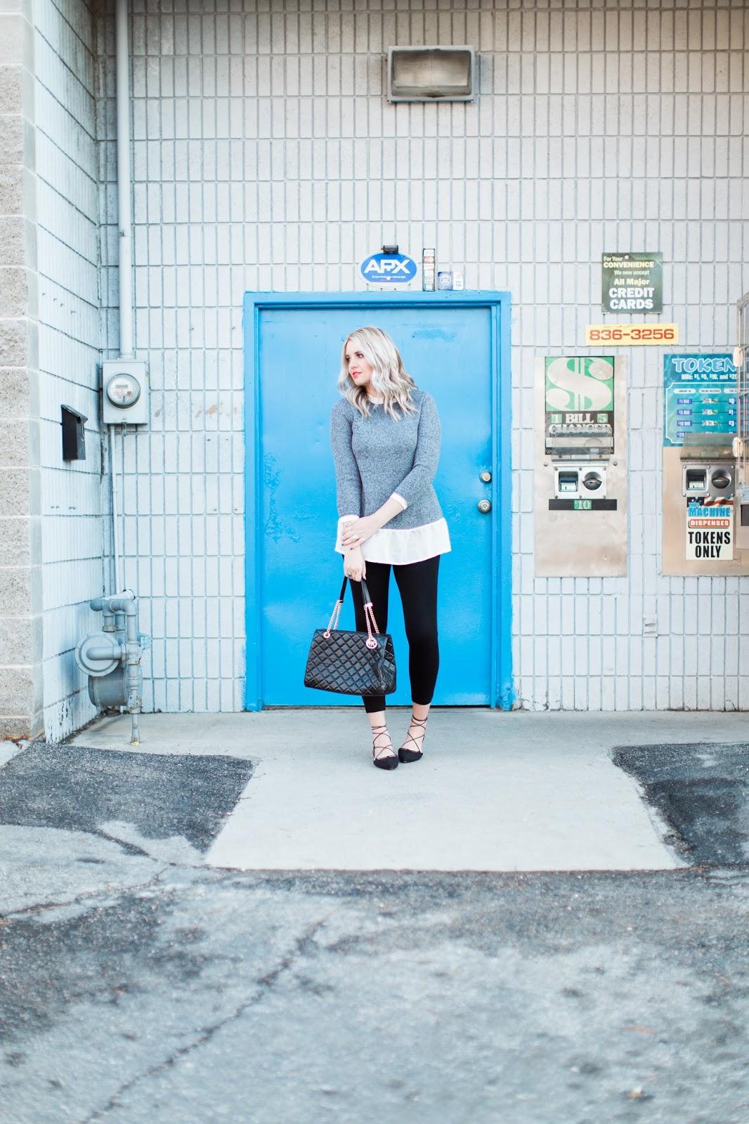 Utah Fashion Blogger, Spring Outfit, Michael Kors