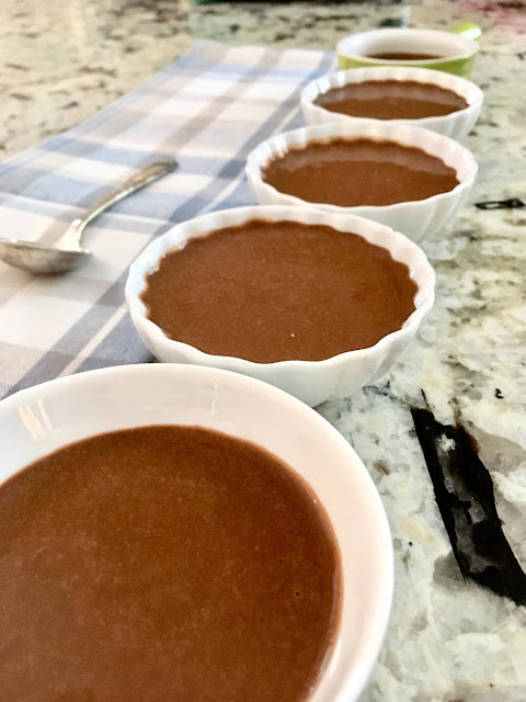 weight watcher's chocolate pudding www.realfoodblogger.com