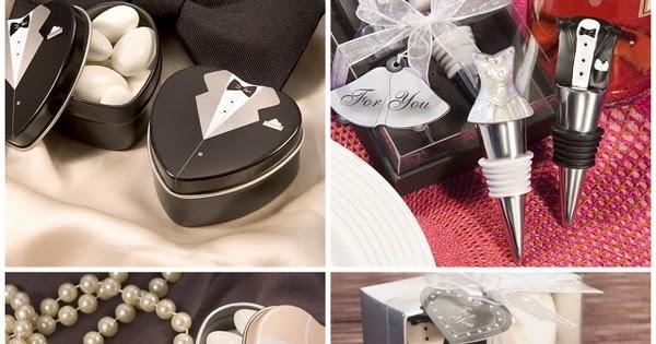 HotRef Blog: Most Popular Bride and Groom Wedding Favors