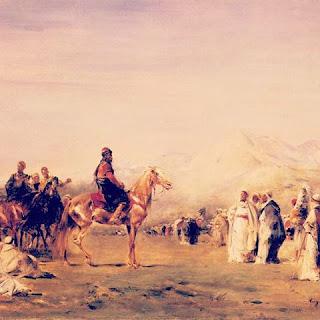 قصص العرب: بين بني نزار بن معد و الأفعى الجُرْهُمِي