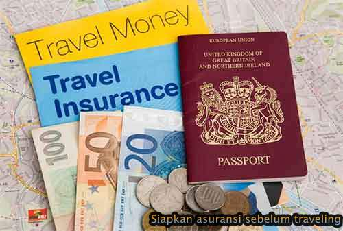 Persiapkan diri dengan Asuransi selama perjalanan