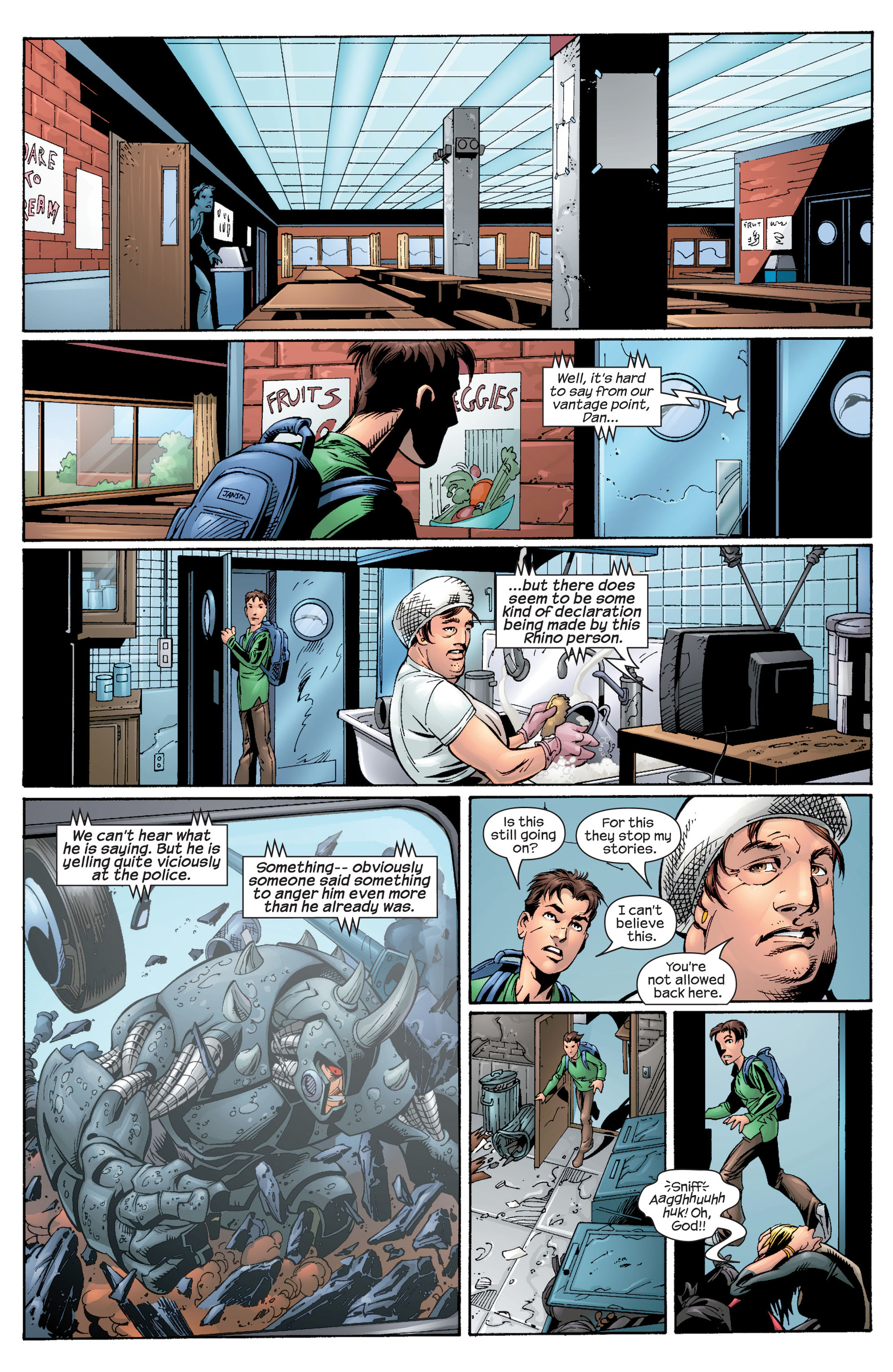 Read online Ultimate Spider-Man (2000) comic -  Issue #28 - 12