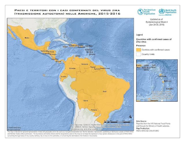 Zika virus: emergenza internazionale