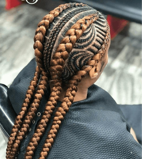 22+ Unique Burgundy Box Braids Hairstyles 2019 for Black ...