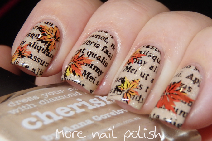 31DC2016 - Inspired by a book combined with Autumn ~ More Nail Polish