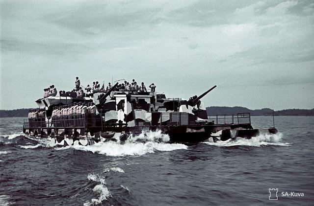 Operation Hobgoblin Color photos World War II worldwartwo.filminspector.com